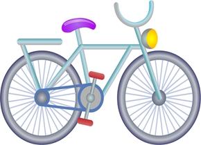 行进中的自行车为啥不倒呢?