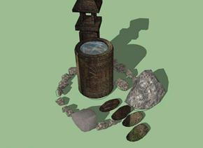 被诅咒的石化水井之谜