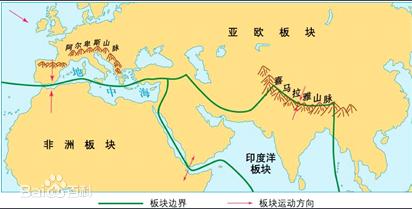 四川 新疆为何多发地震图片