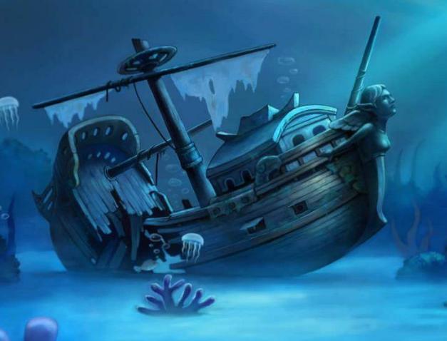 两艘古沉船的故事