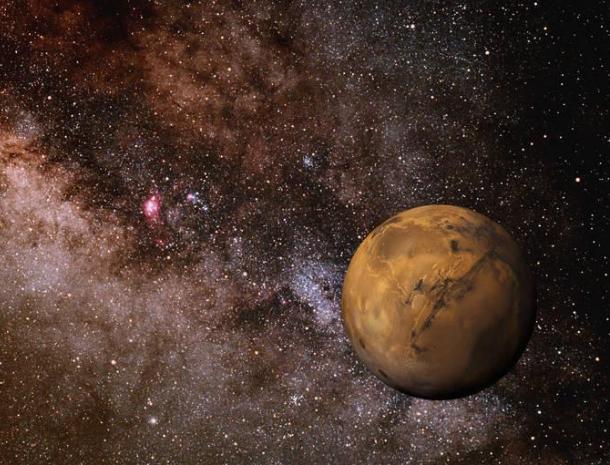 战神和火星的故事