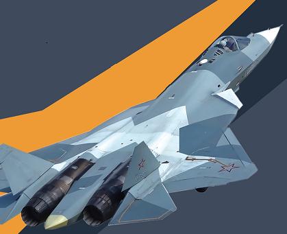 """苏-57 剑指""""天空之王"""""""