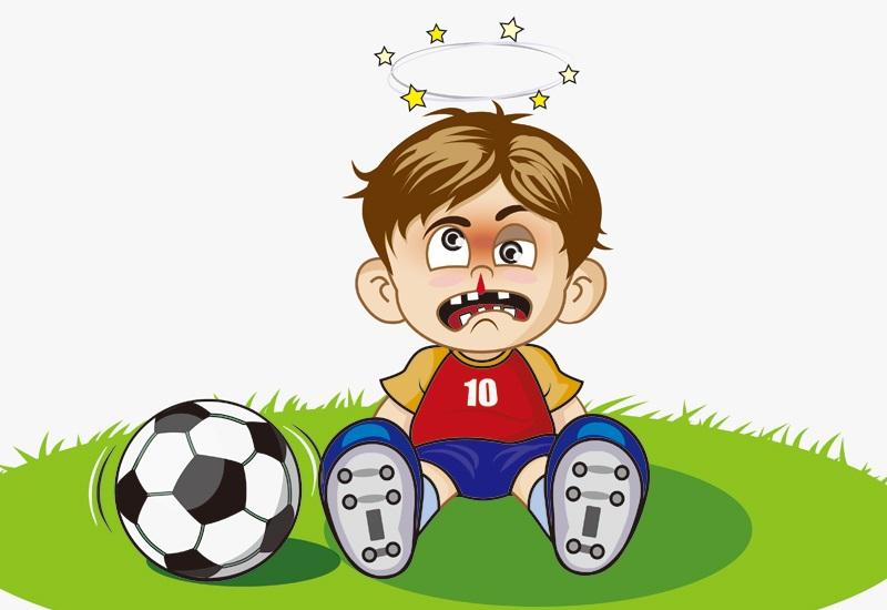 孩子运动,戴好护齿器