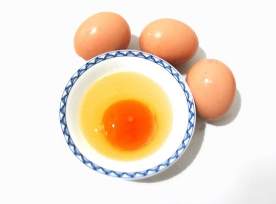 蛋黄儿金黄金黄的,就是好鸡蛋?