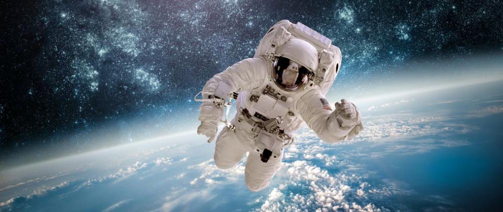 忙碌的太空生活