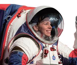 宇航员新套装