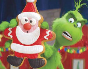 不善交往的格林奇先生也要过圣诞