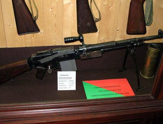 致命火力——M1918A2勃朗宁自动步枪