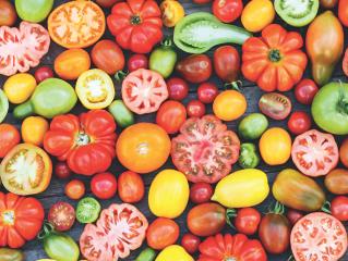 樱桃番茄,咱的颜值那是天生的