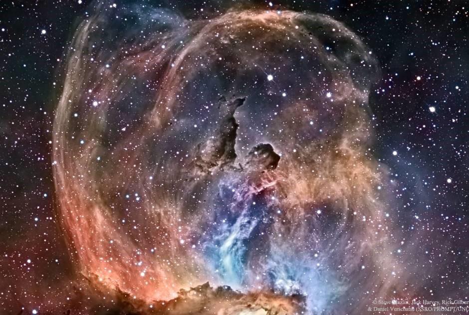 星空中的自由女神像