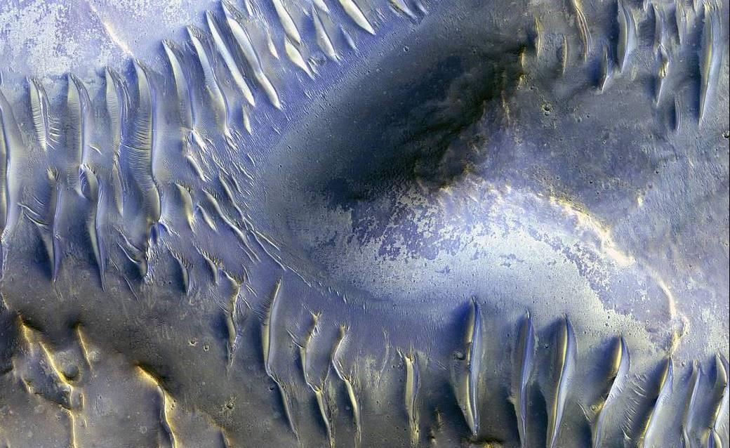 火星上的蓝鲸尾巴