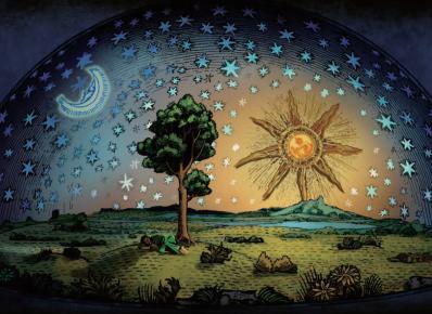 宇宙本和谐 行星动有序