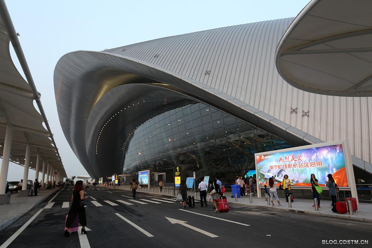 南宁机场_【原创】南宁机场新航站楼--中国数字科技馆