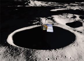 月球上陨石坑里的陨石哪去了?