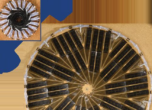 折叠式太阳能面板无消耗展开