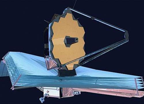 被推迟发射的詹姆斯·韦布空间望远镜
