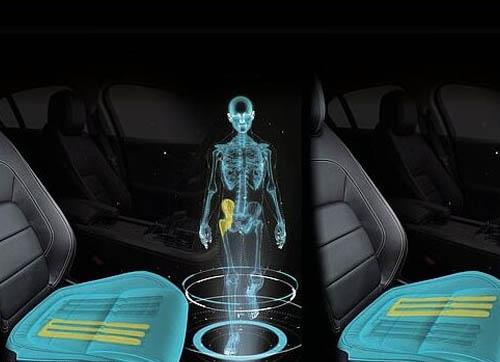 """捷豹路虎推出神奇可变形座椅 """"骗""""大脑开车时以为在走路"""