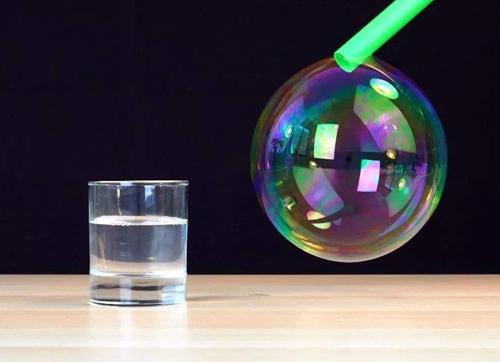 【居家实验】神奇的泡泡