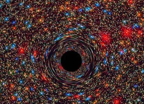 """破坏现有物理定律的""""裸奇点"""",我们可能已经探测到了?"""