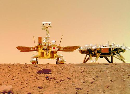 """""""祝融号""""火星车拍摄的火星地形地貌来了"""