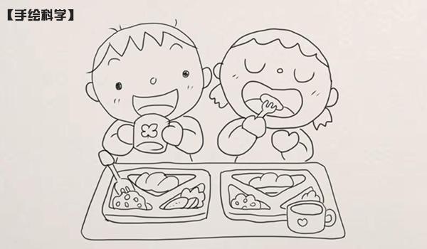 【手绘科学】注重饮食卫生,小心病从口入