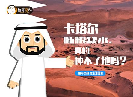【榕哥烙科】第180期:卡塔尔断粮缺水,真的种不了地吗?