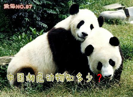 【微课 第97期】中国濒危动物知多少?