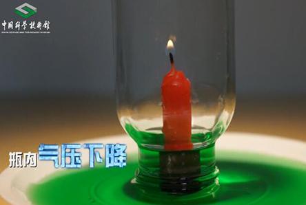 【神奇实验室】第3期:会吸水的蜡烛