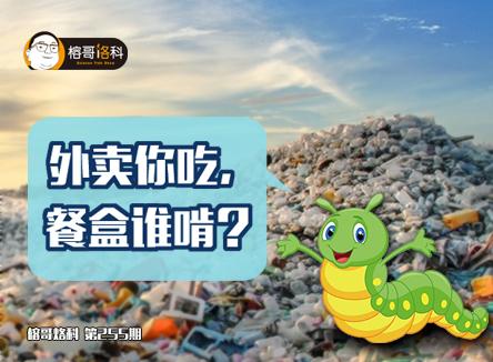 【榕哥烙科】第255期:外卖你吃,餐盒谁啃?