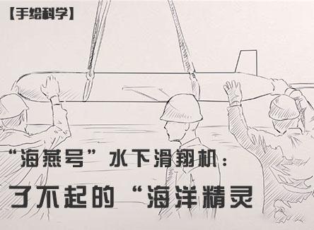 """【手绘科学】""""海燕号""""水下滑翔机:了不起的""""海洋精灵"""""""
