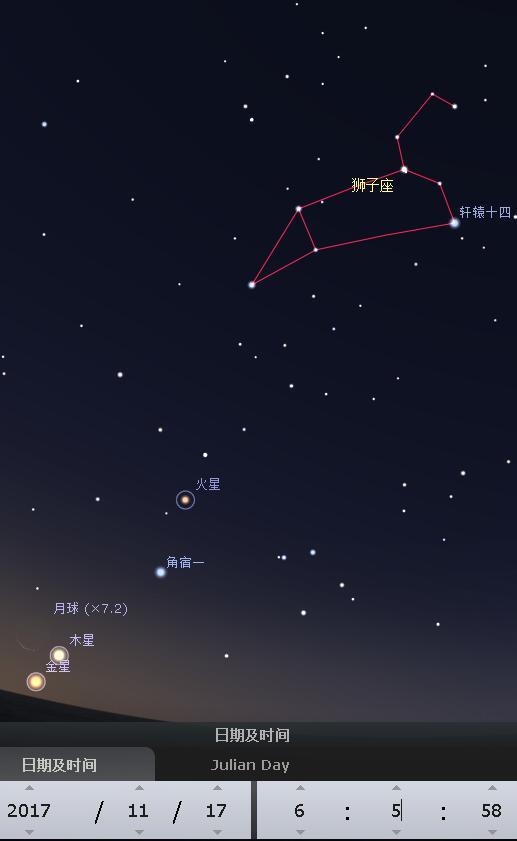 2011年11月1日凌晨_2017年11月17日 今天凌晨狮子座流星雨极大--中国数字科技馆